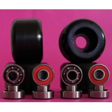 SET WHEELS / BEARINGS 54mm / 98A